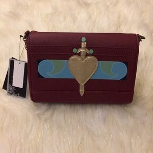 Loungefly Snow White Evil Queen Crossbody NWT